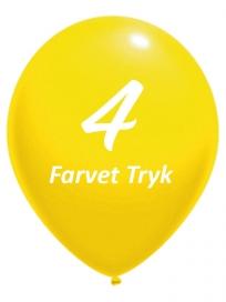 Balloner med 4 Farvet tryk