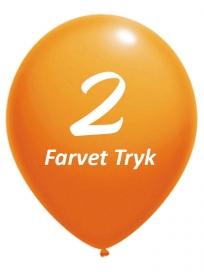 Balloner med 2 Farvet tryk