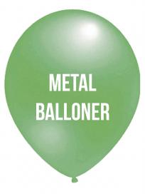 Metal Balloner 2 Farvet tryk