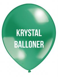 Krystal Balloner 2 farvet tryk
