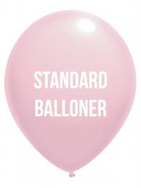 Standard Balloner 3 Farvet tryk