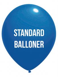 Standard Balloner 4 Farvet tryk