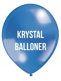 Krystal Balloner 4 farvet tryk