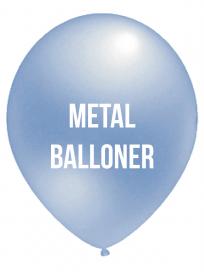 Metal Balloner 4 Farvet tryk