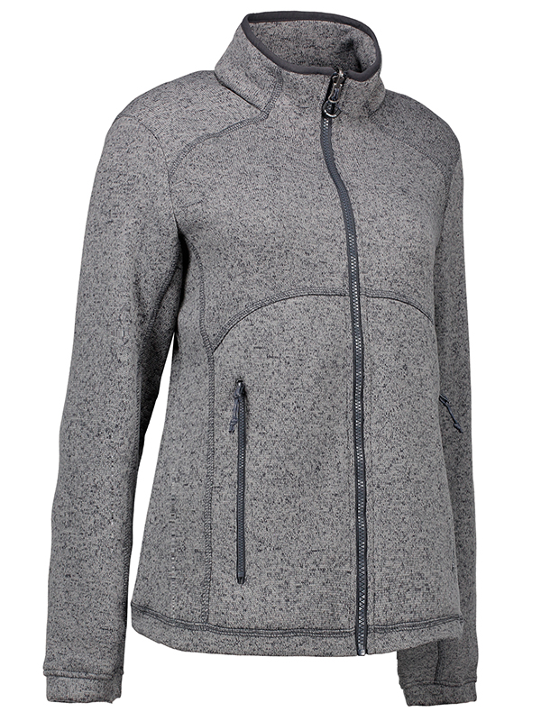 55ff4240 ID Zip'N'Mix - Melange Fleece Dame | Dame Fleecetrøjer | ROOT ...