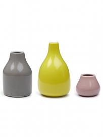 Kähler Botanica Vase  Sampak 3 stk