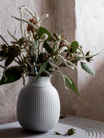 Lyngby Curve Vase i Porcelæn
