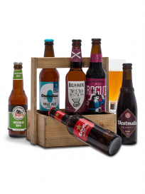 Værktøjskasse m. udenlandske øl