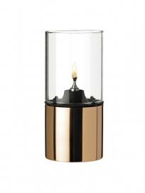 Stelton - EM Olielampe, Copper, Klar Lampeglas