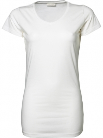 Tee Jays Fashion Stretch Tee Ekstra Lang Dame