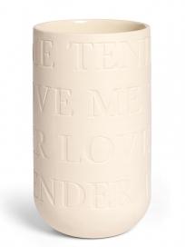 Kähler Lovesong Vase Mellem