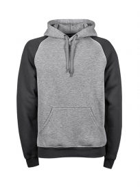 TeeJays Two-tone Hooded Sweatshirt Herre