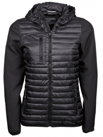 TeeJays Hooded Crossover Jacket Dame