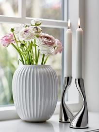 Lysestager og Vase
