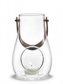 Holmegaard - Lanterne, klar, 16 cm