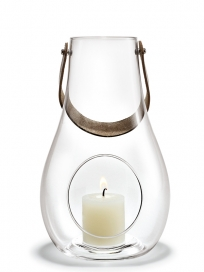 Holmegaard - Lanterne. klar, 25 cm