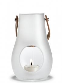 Holmegaard - Lanterne, hvid, 16 cm