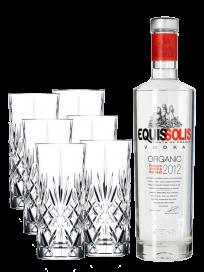 Equissolis Vodka & Lyngby Highball glas