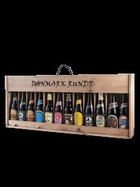 Gavekasse med øl - Danmark Rundt