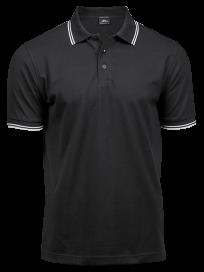 Tee Jays Luxury Stripe Stretch Polo