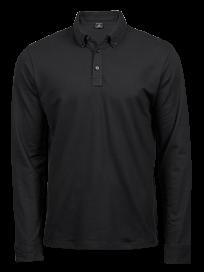 Tee Jays Fashion Long Sleeve Luxury Stretch Polo