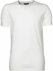 Tee Jays Stretch V-hals T-shirt Herre