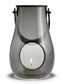 Holmegaard - Lanterne smoke 16 cm