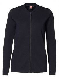 ID Casual Zip Cardigan - Dame