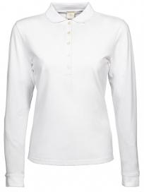 Tee Jays Luxury Stretch Long Sleeve Polo Dame