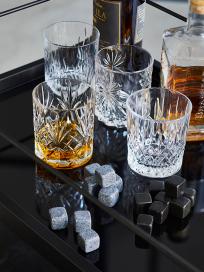 Lyngby Crystal Selection glas og Isterninger