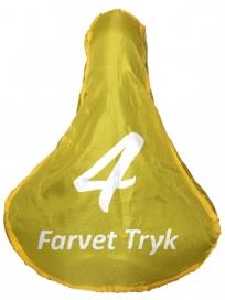Cykel Sadelovertræk med 4 farvet tryk