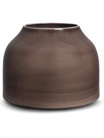 Kähler Botanica Vase Gråbrun Stor