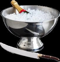 Champagnebowl & Sabel