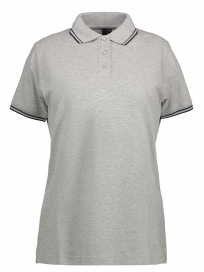 Stretch Contrast Polo Dame (2)