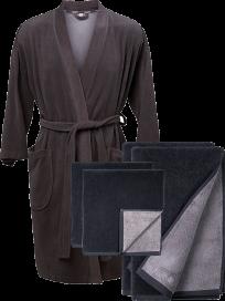 Södahl - Badekåbe og håndklædesæt
