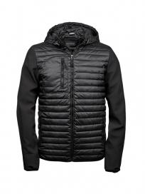 TeeJays Hooded Crossover Jacket