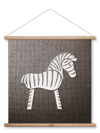Kay Bojesen - Galleri, Zebra