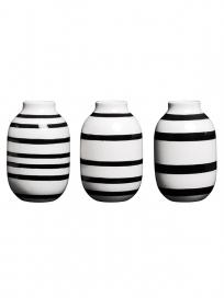 Kähler Omaggio miniature vase 3-pak