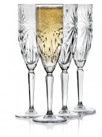 Lyngby Symfonia Champagneglas 4 stk