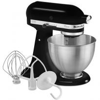kitchenaid-koekkenmaskine-classic-mixer-sort-ikonisk-roeremaskine-med-4,28-liters-skaal